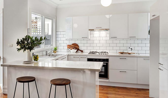 Kitchen reno in the heart of Melbourne