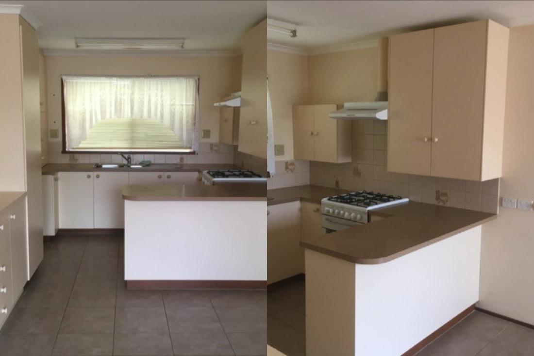 Flat Kitchen Transformation On Mornington Peninsula Kitchen Shack