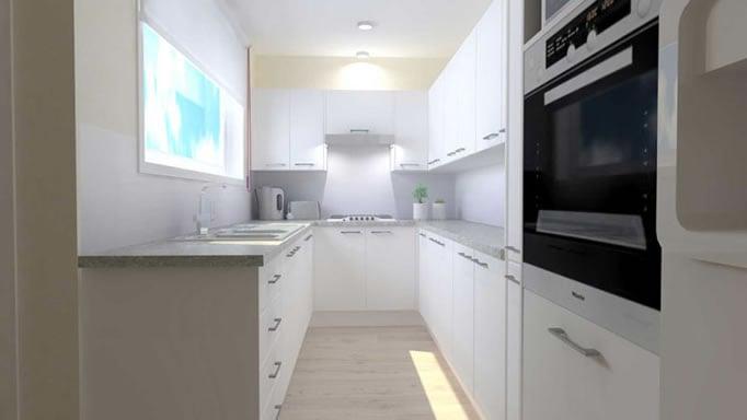 Kitchen Shack 3D Render