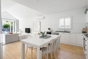 white modern kitchen in brighton