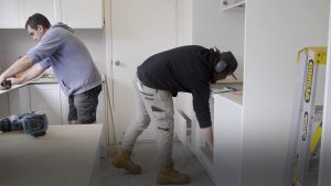 How to install a kitchen